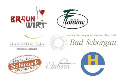 I cuochi partecipanti 2015 e i loro ristoranti