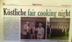 Bericht Tageszeitung