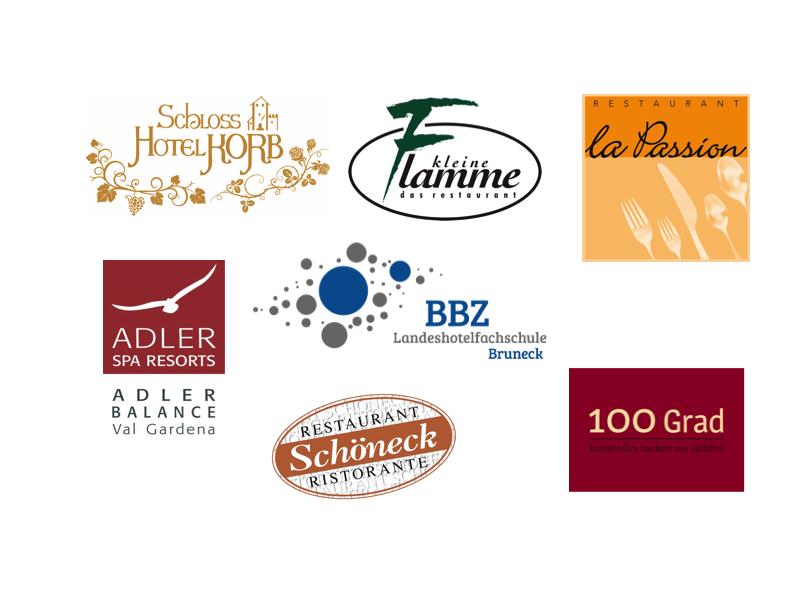 Teilnehmende Köche 2016 und ihre Restaurants