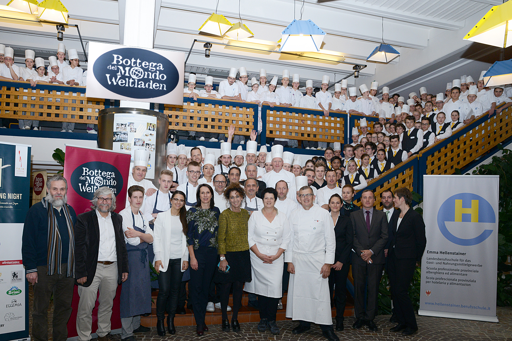 Das war die fair & local cooking night 2016